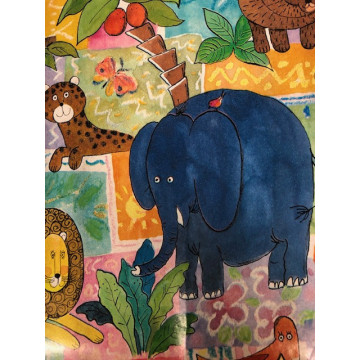 PAPIER CADEAU 70X50M ELEPHANT