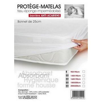 PROTEGE MATELAS 200X200 PVC...