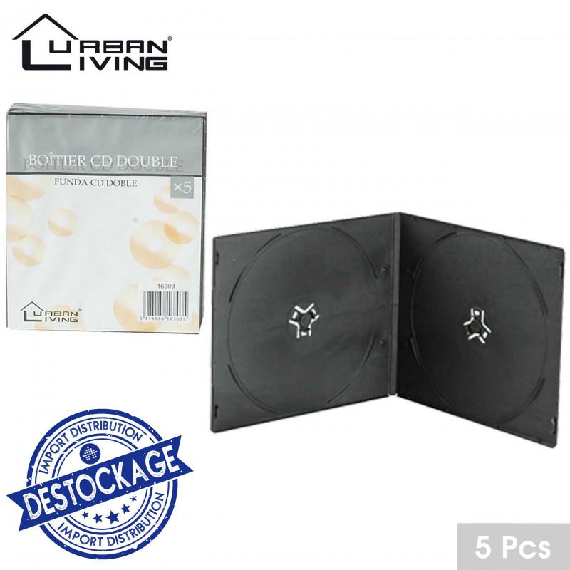BOITIER X 5 CD SOUPLE