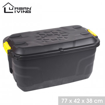 BOX 77X42X38 NOIR 75L