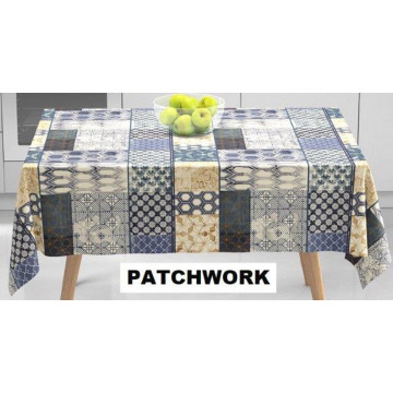 TOILE CIREE PATCHWORK...