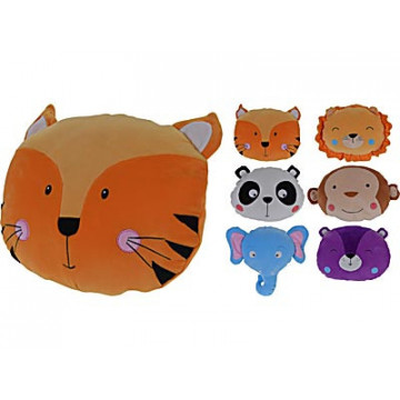 COUSSIN PELUCHE ANIMAUX