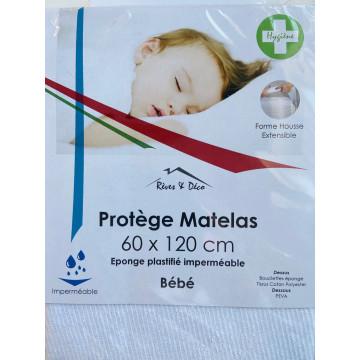 PROTEGE MATELAS  60X120 BEBE