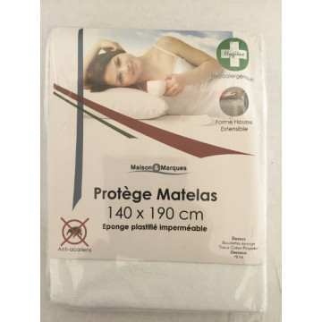 PROTEGE MATELAS 140X190 PVC...