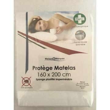 PROTEGE MATELAS 160X200 PVC...