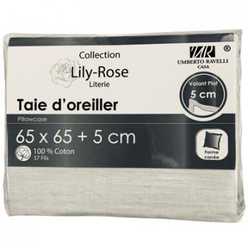 TAIE OREILLER 65X65+5CM...