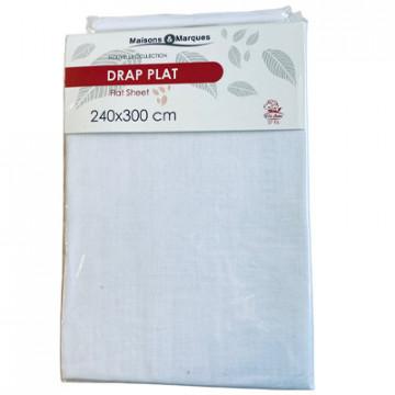 DRAP PLAT 240X300 COTON...